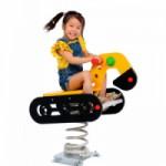 Wiosenna koparka jeździecka dla twoich dzieci